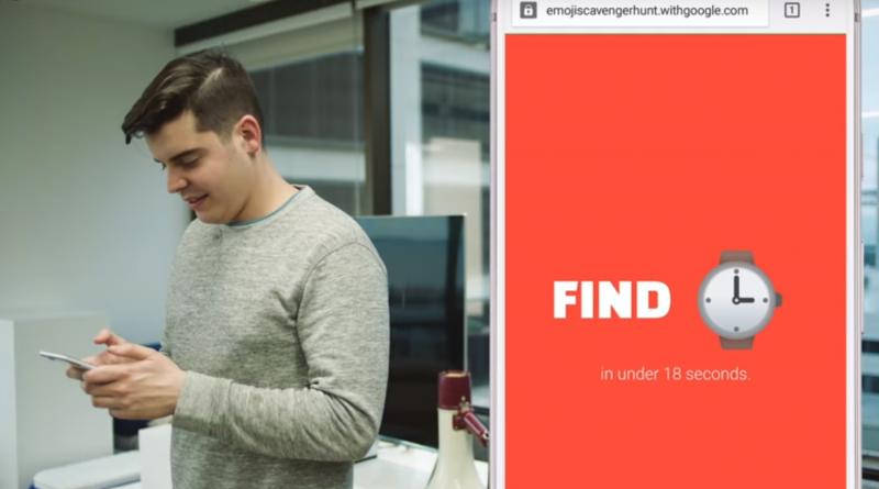 Google lance Emoji Scavenger Hunt un nouveau jeu en réalité augmentée