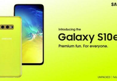La publicité du Samsung Galaxy S10e a fuitée