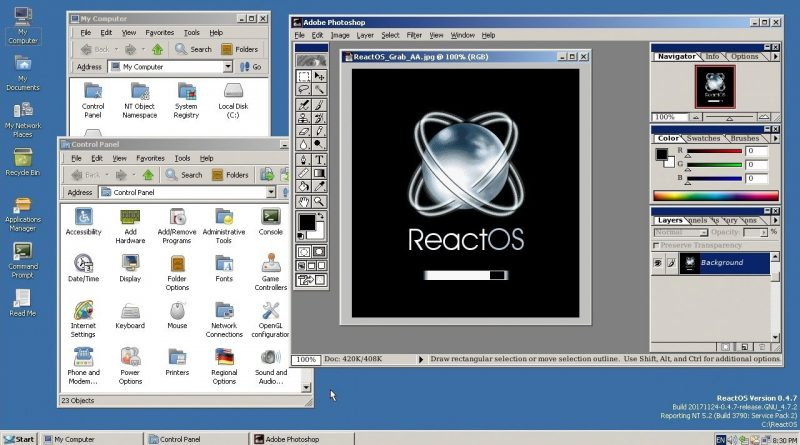 Comment installer ReactOS ? Un Windows OpenSource et gratuit