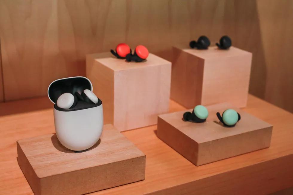 Les nouveaux écouteurs de Google Buds